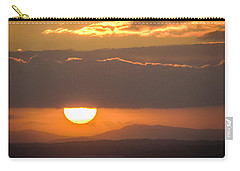 Sunrise Over River Shannon Carry-all Pouch