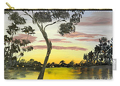 Sunrise Over The Murray River At Lowson South Australia Carry-all Pouch