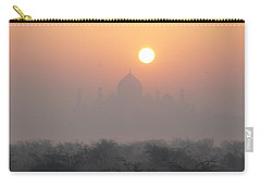 Sunrise Over The Taj Carry-all Pouch