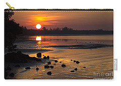 Carry-all Pouch featuring the photograph Sunrise Photograph by Meg Rousher