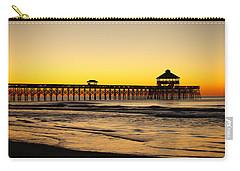 Sunrise Pier Folly Beach Sc Carry-all Pouch