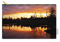 Sunrise Thanksgiving Morning Carry-all Pouch by Joe Faherty