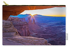 Sunrise Through Mesa Arch Carry-all Pouch