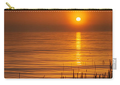 Sunrise Through The Fog Carry-all Pouch by Scott Norris