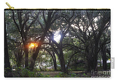 Sunrise Through The Oaks Carry-all Pouch