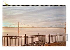 Carry-all Pouch featuring the photograph Sunrise To The Bay by Jonathan Nguyen