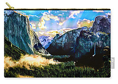 Sunrise Yosemite Valley Nationalpark Carry-all Pouch