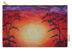 Sunset 1 Carry-all Pouch by Jeanne Fischer