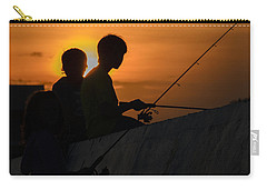 Sunset Anglers Carry-all Pouch by Keith Armstrong