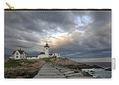 Sunset At Eastern Point Lighthouse Carry-all Pouch