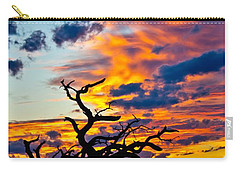 Sunset At Enchanted Rock Carry-all Pouch