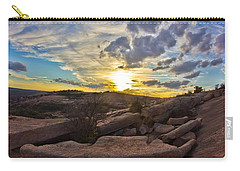 Sunset At Enchanted Rock State Natural Area Carry-all Pouch