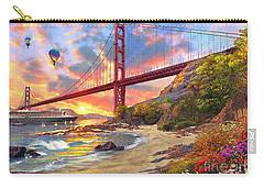 Bridges Digital Art Carry-All Pouches