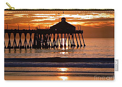 Sunset At Ib Pier Carry-all Pouch