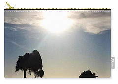 Carry-all Pouch featuring the photograph Sunset At La Jolla by Susan Garren