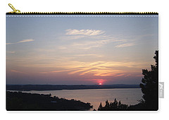 Sunset At Lake Travis Carry-all Pouch