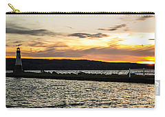 Sunset At Myers Carry-all Pouch