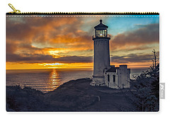 Sunset At North Head Carry-all Pouch by Robert Bales