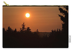 Sunset At Owl's Head Carry-all Pouch