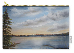 Sunset At Sparta Lake New Jersey Carry-all Pouch