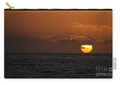 Sunset At St Ives Carry-all Pouch