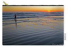 Sunset At The Beach Carry-all Pouch