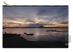 Sunset Over Lake Myvatn In Iceland Carry-all Pouch