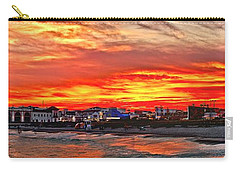 Sunset At The Music Pier Carry-all Pouch