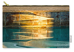 Sunset At The Pool Carry-all Pouch
