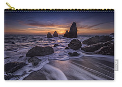 Sunset At Water's Edge Carry-all Pouch