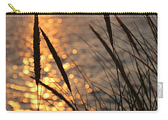 Sunset Beach Carry-all Pouch by Athena Mckinzie