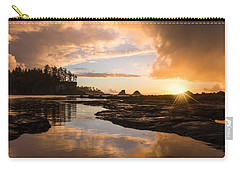 Sunset Bay Reflections Carry-all Pouch by Patricia Davidson