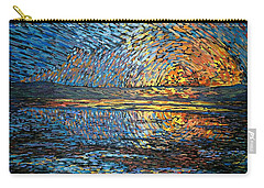 Sunset Before The Storm Carry-all Pouch