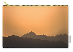 Sunset Behind The Julian Alps Carry-all Pouch