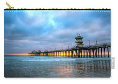 Sunset Beneath The Pier Carry-all Pouch