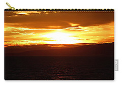 Sunset By The Fjord Carry-all Pouch