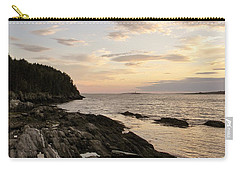 Sunset By The Sea Carry-all Pouch by Jean Goodwin Brooks