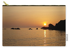 Sunset Crooklets Beach Bude Cornwall Carry-all Pouch