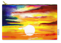 Sunset Explosion Carry-all Pouch