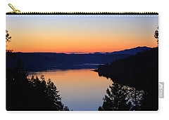 Sunset From The Deck Carry-all Pouch