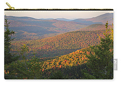 Sunset Glow Over The Autumn Landscape Carry-all Pouch