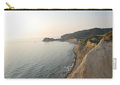 Carry-all Pouch featuring the photograph Sunset Gourna by George Katechis