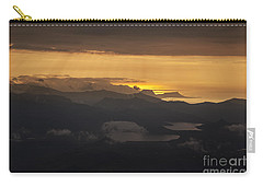 Carry-all Pouch featuring the photograph Sunset by Gunnar Orn Arnason