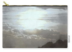 Carry-all Pouch featuring the photograph Sunset Impressions Over The Blue Ridge Mountains by Photographic Arts And Design Studio