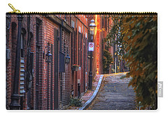 Sunset In Beacon Hill Carry-all Pouch by Joann Vitali