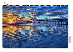 Sunset In Blue Carry-all Pouch