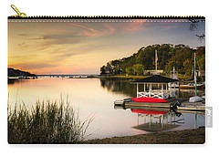 Sunset In Centerport Carry-all Pouch