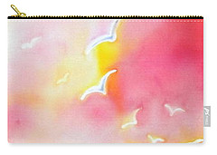 Sunset In Costa Brava Carry-all Pouch