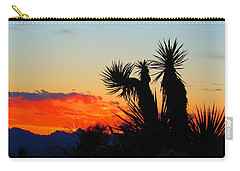 Sunset In Golden Valley Carry-all Pouch