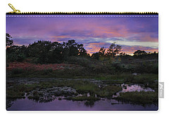 Sunset In Purple Along Highway 7 Carry-all Pouch